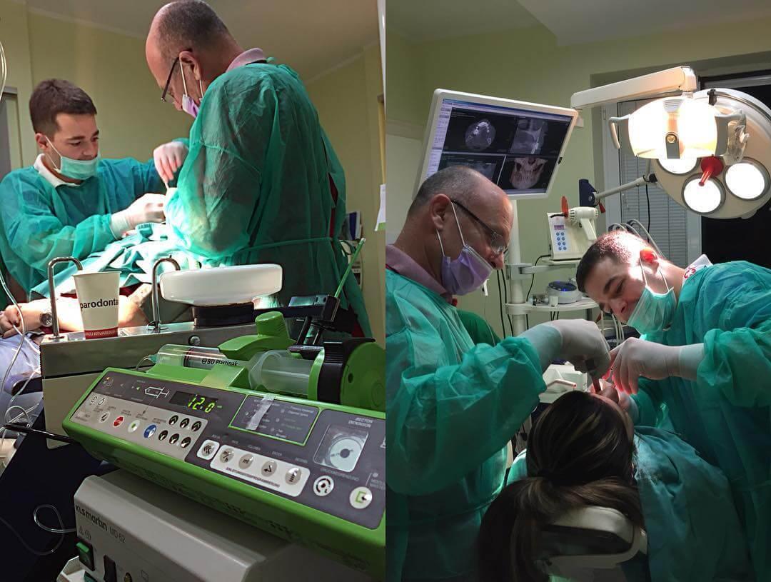 stomatološke intervencije u Dental Oral Centru