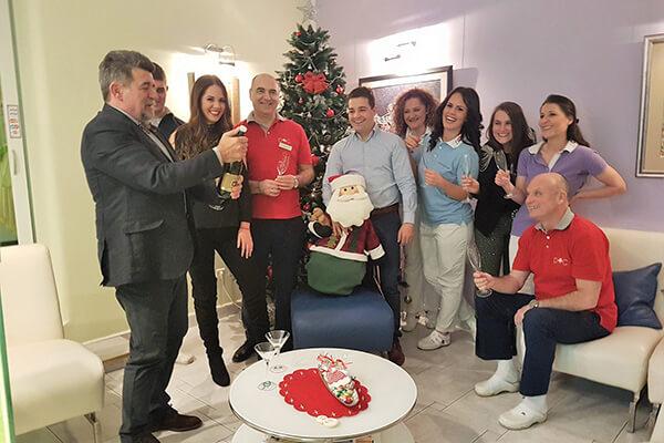 Proslava Nove Godine u Dental Oral Centru